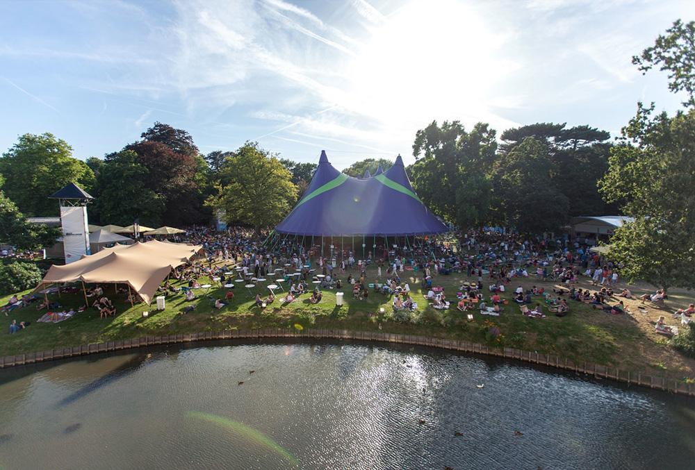 Jazz Middelheim is een van de sfeervolste festivals van West-Europa. foto Bruno Bollaert