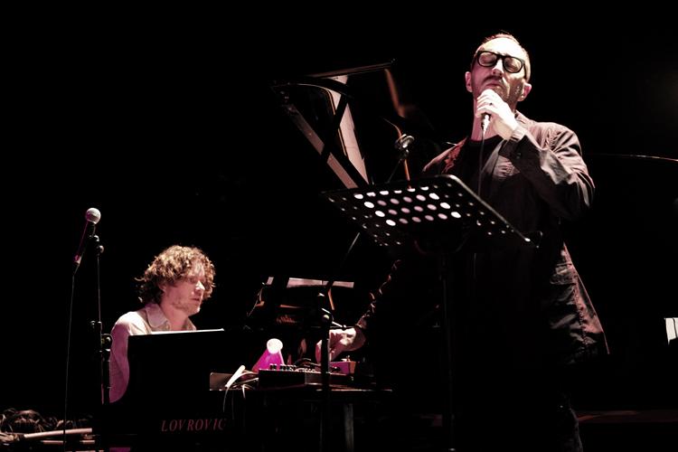 Theo-Bleckmann-en-Harmen-Fraanje Eric Vloeimans en Jon Balke sensatie op November Music