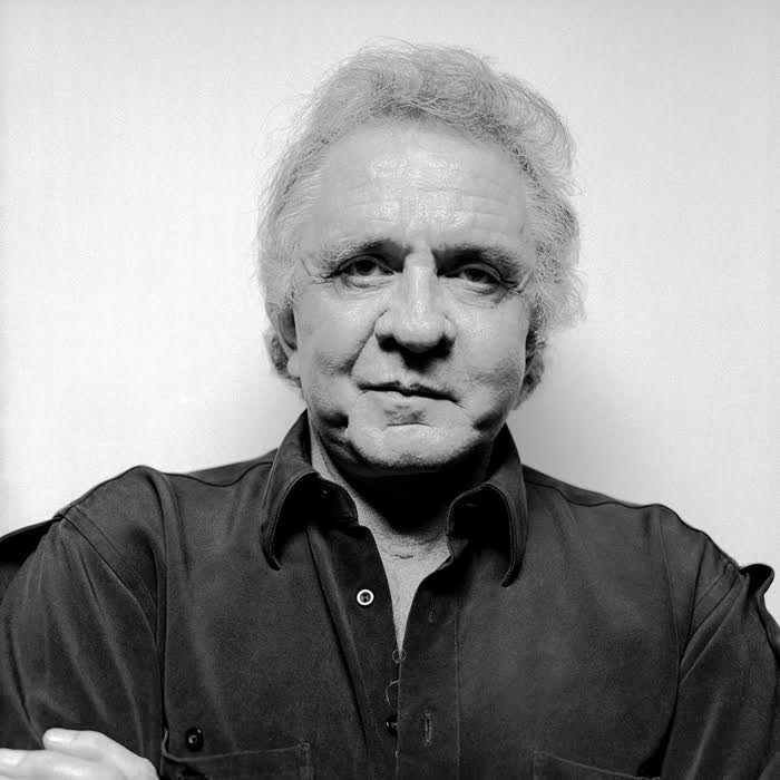 Johnny Cash, The Hague, The Netherlands 1995.