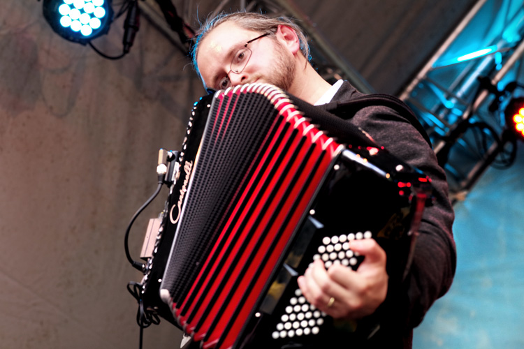 accordeon International Gipsy Festival is notulist en heraut tegelijk