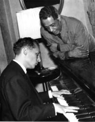 bolling__elligton_s Claude Bolling: 'Ontwikkeling jazz is net als die van mode'