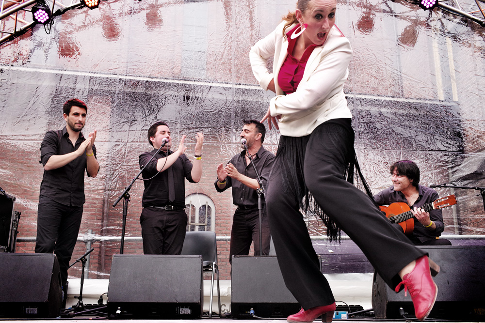 maurice International Gipsy Festival is notulist en heraut tegelijk