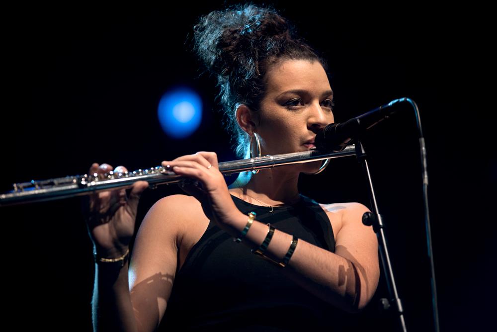 Elena-Pinderhughes_flute-bij-Christian-Scott JazzOUT! pakt voor vierde keer uit met ijzersterk programma