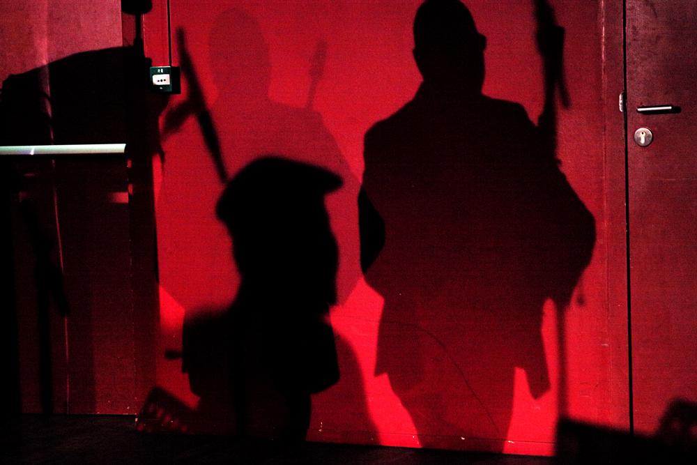 schaduw Muziek Vein en Greg Osby gevat in snelheid en stijfheid