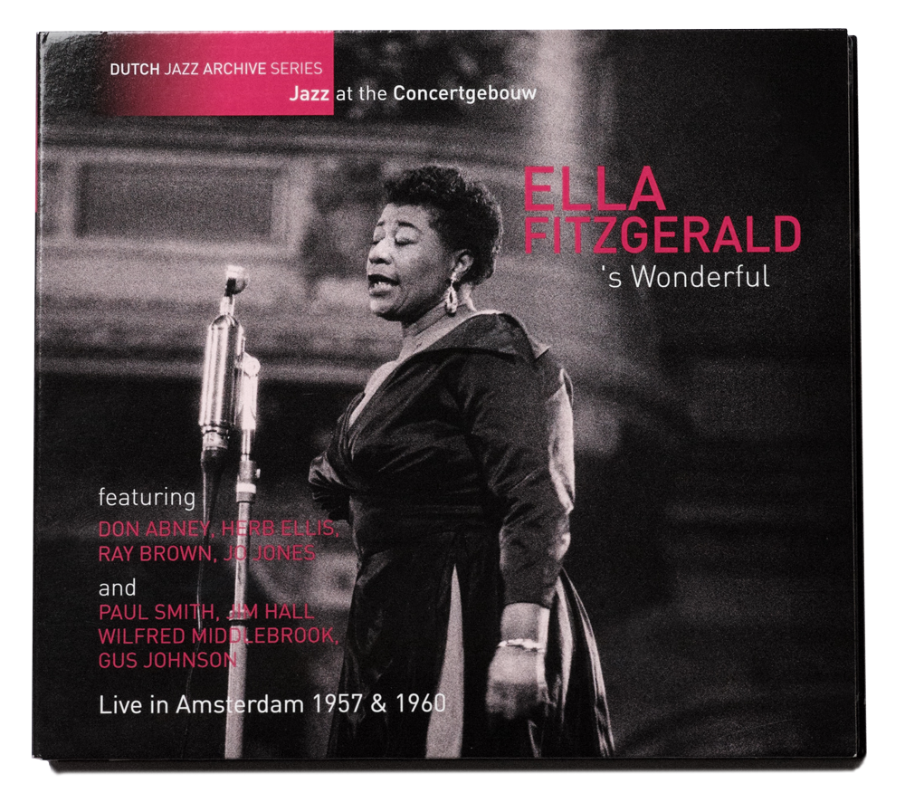 Ella-Fitzgerald-s-Wonderful Ella Fitzgerald rijgt twintig standards als juwelen aaneen