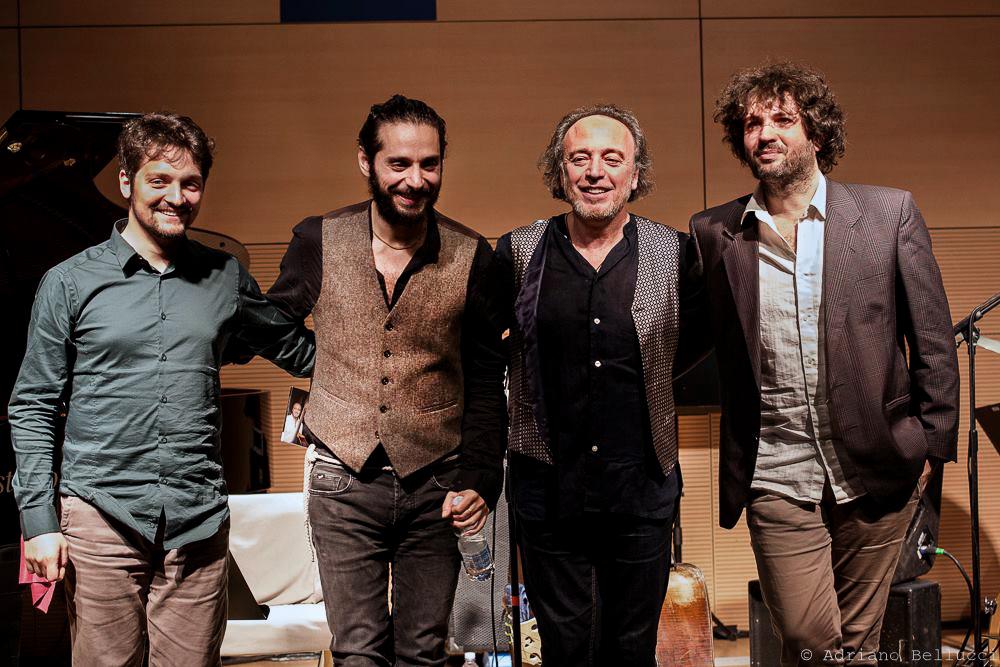 Rosario-Bonaccorso-Quartet-at-Casa-del-Jazz-Roma-Foto-Adriano-Bellucci Rosario Bonaccorso's handpalm: liefde en muziek
