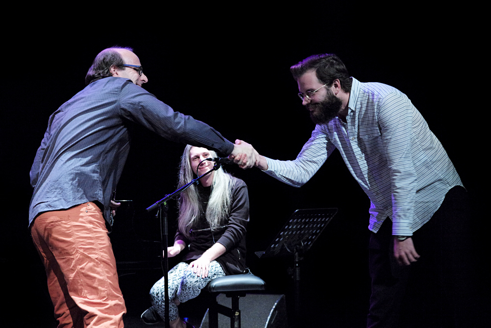 Bang-on-a-Can-All-Stars-en-Aart-Strootman-Foto-Gemma-van-der-Heyden-JazzNu.com_ November Music 2017 ware spoeling van de geest