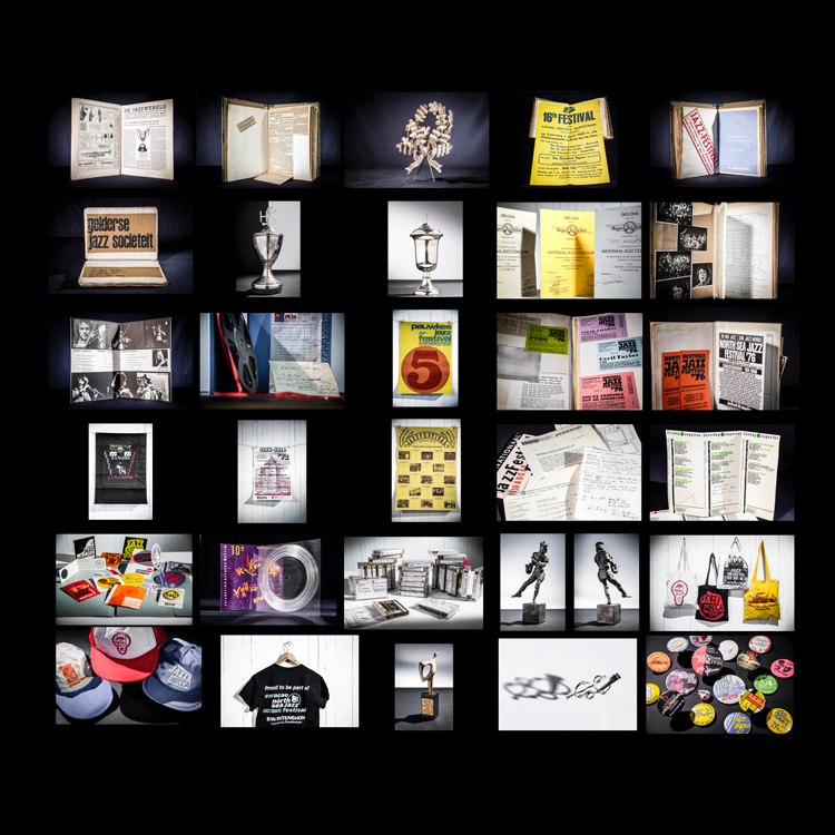 Travelling-exhibition-van-Loes-Rusch Subliem boek Jacqueline Oskamp over muziekarchieven