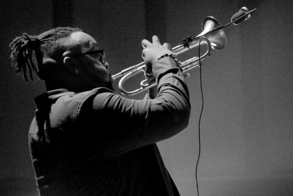 Chicagoan-Marquis-Hill-Foto-Tom-Beetz Fijne smaakproefjes uit Brussels Jazz Festival 2018