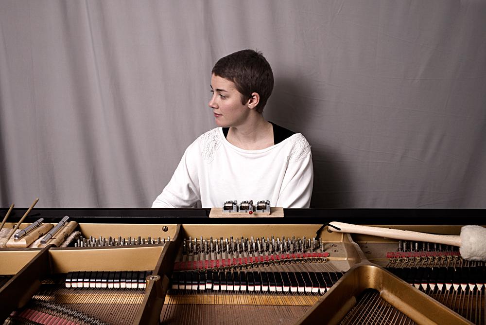 Kaja-Draksler-7-Foto-Gemma-van-der-Heyden-JazzNu.com_ Kaja Draksler: 'Elke piano is een persoonlijkheid'