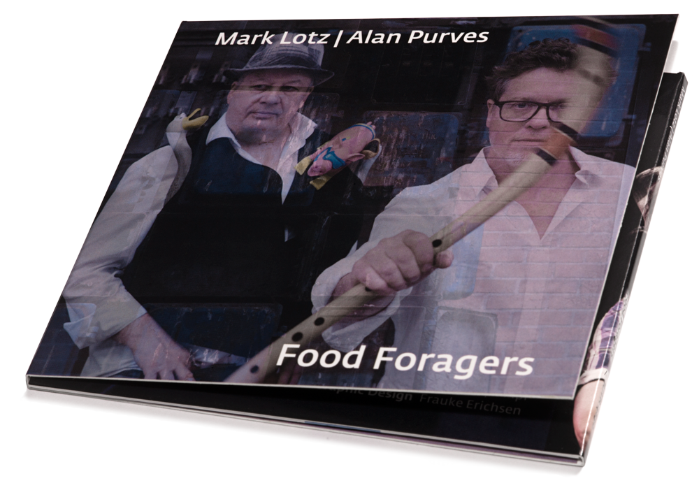 Mark-Lotz-_-Alan-Purves-Food-Forages Purves en Lotz: met 'Food Foragers' lak aan conventies