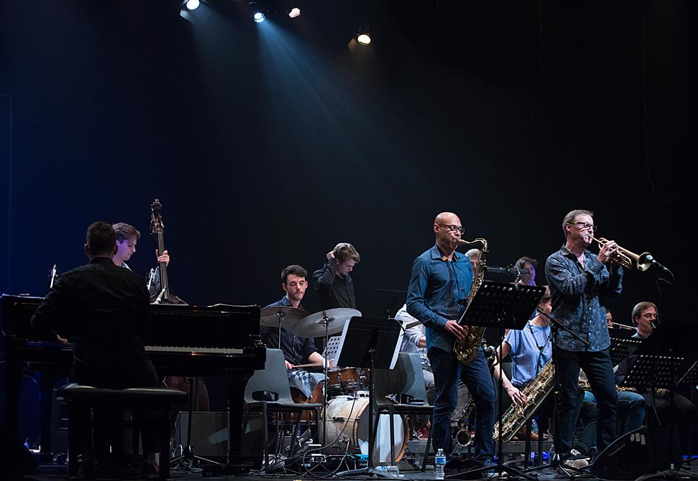 Orkest-KCA-Foto-Jean-Schoubs Joshua Redman bij jubileum Conservatorium Antwerpen
