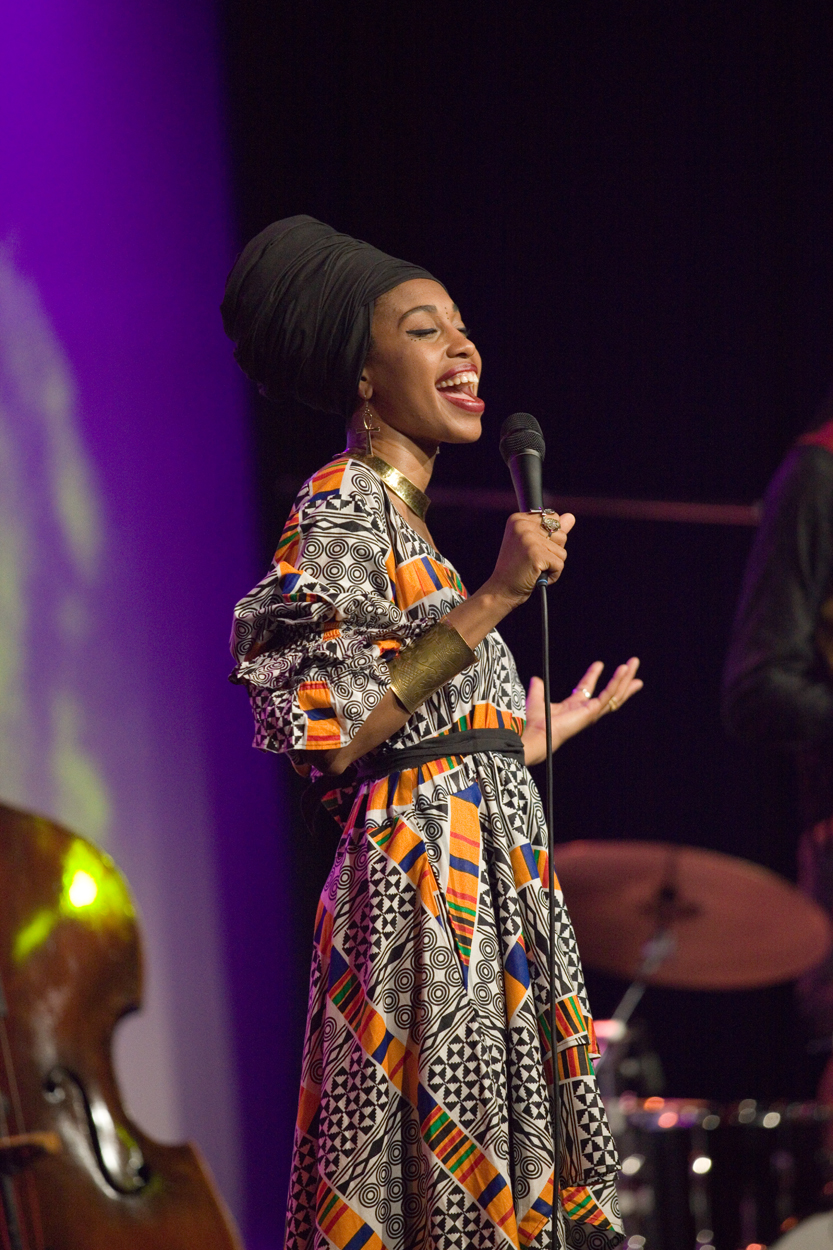 Jazzmeia-Horn North Sea Jazz verwent wederom de fijnproevers