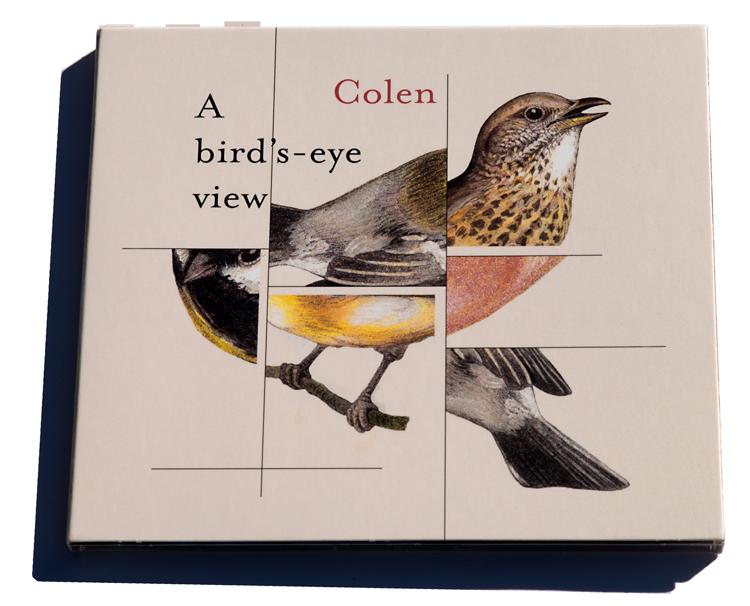 Colen-A-birds-eye-view Ad Colen maakt zijn jazz op de wiekslagen van vogels