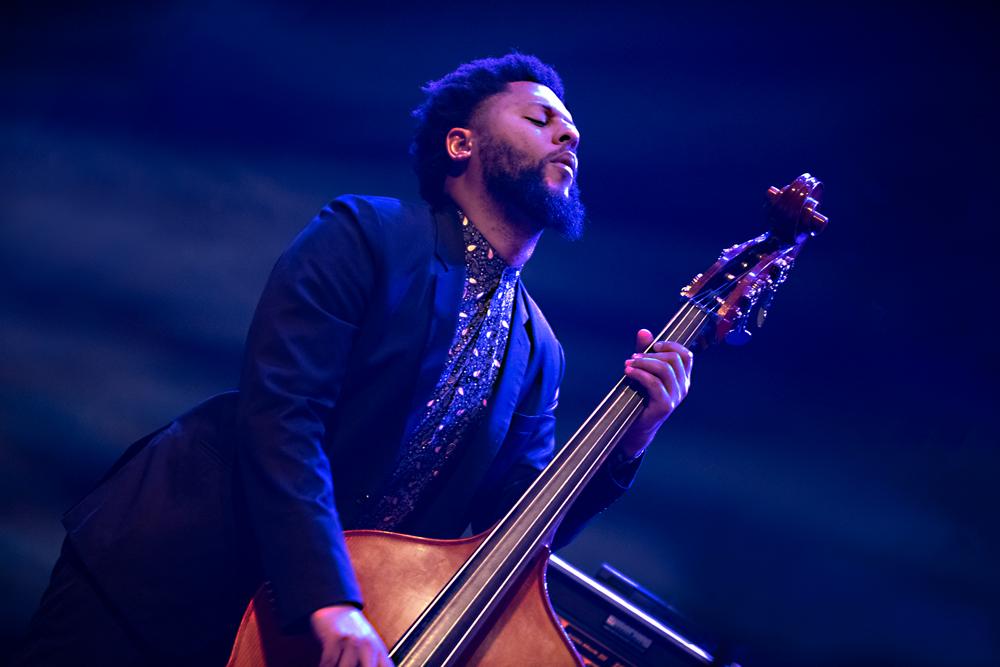 Jazzmeia-Horn-Quartet-Barry-Stephenson-Foto-Jeanschoubs Jazzmeia Horn en Antonio Sanchez: jazz met boodschap