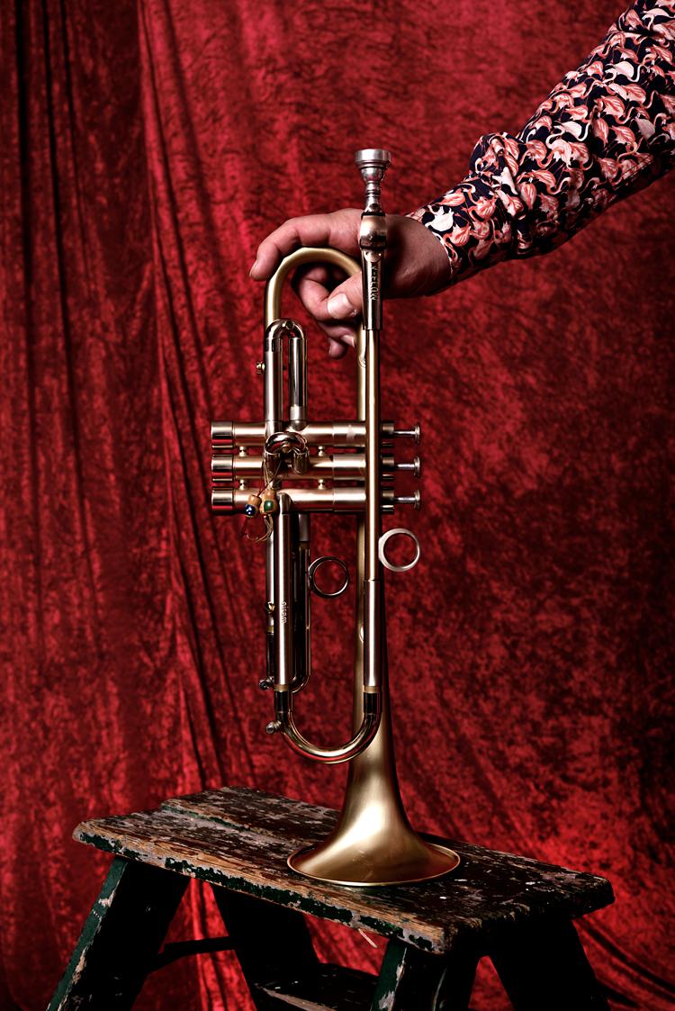 Trompet-Foto-Gemma-van-der-Heyden-JazzNu.com_ Eric Vloeimans heeft er het liefst een schemerlampje bij