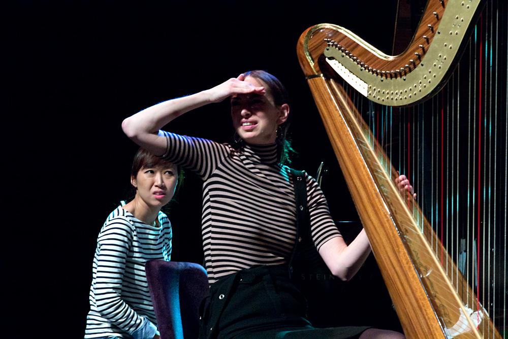 Vivian-Choi-en-Gwyneth-Wentink-tijdens-doorloop-Foto-Gemma-van-der-Heyden-JazzNu.com_ November Music '18 kent weer een ijzersterke opening