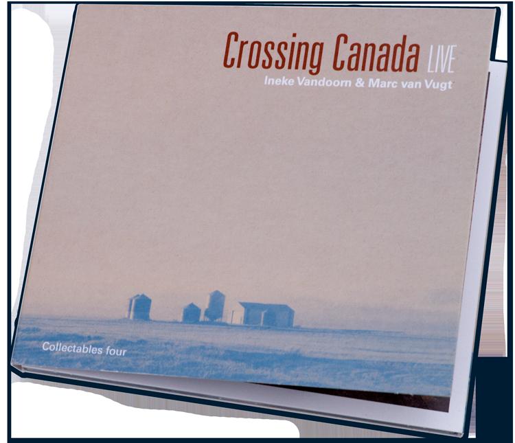 Crossing-Canada Een reis in noten van Vandoorn en Van Vugt