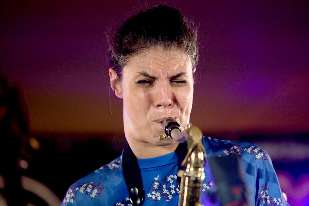 Melissa-Aldana-kopiëren Goed en nerveus begin van North Sea Jazz Festival