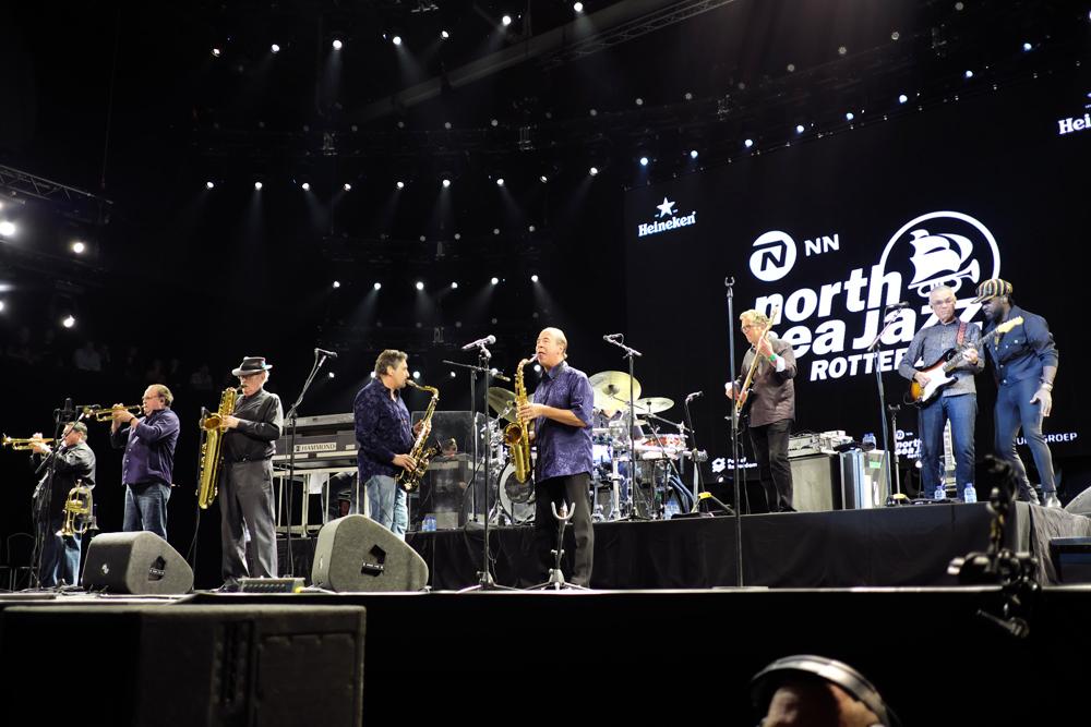 Tower-of-Power-kopiëren Goed en nerveus begin van North Sea Jazz Festival