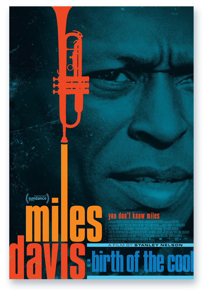 Birth-of-the-cool-poster Met Miles Davis naar de film