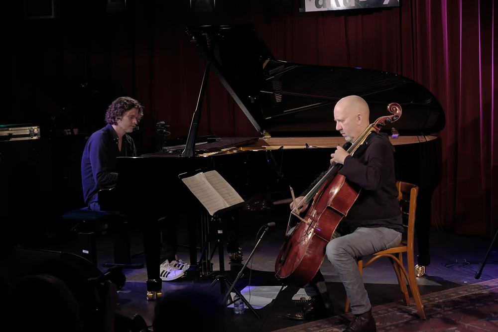 Harmen Fraanje en Erst Reijseger zorgden voor een adembenemend optreden.