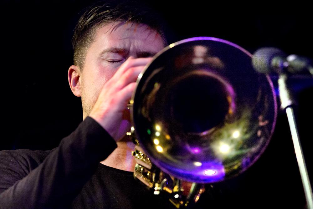 Daniel Herskedal bespeelde ook de zelden voorkomende bastrompet.
