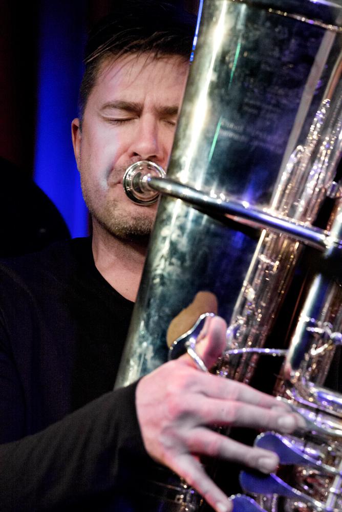 Daniel Herskedal, grootmeester op de tuba.