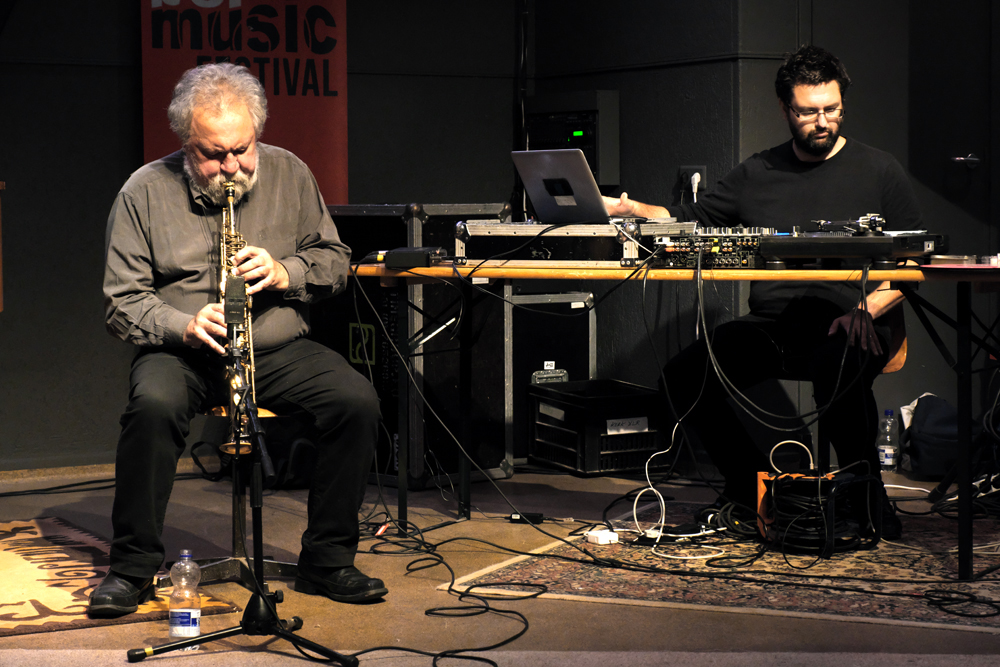 Evan-Parker-en-Matt-Wright.-Foto-Tom-Beetz November Music '19 ook garant voor far-out muziek