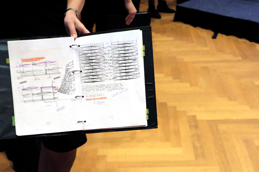 Notaties-Watermuziek.-Foto-Tom-Beetz November Music '19 ook garant voor far-out muziek