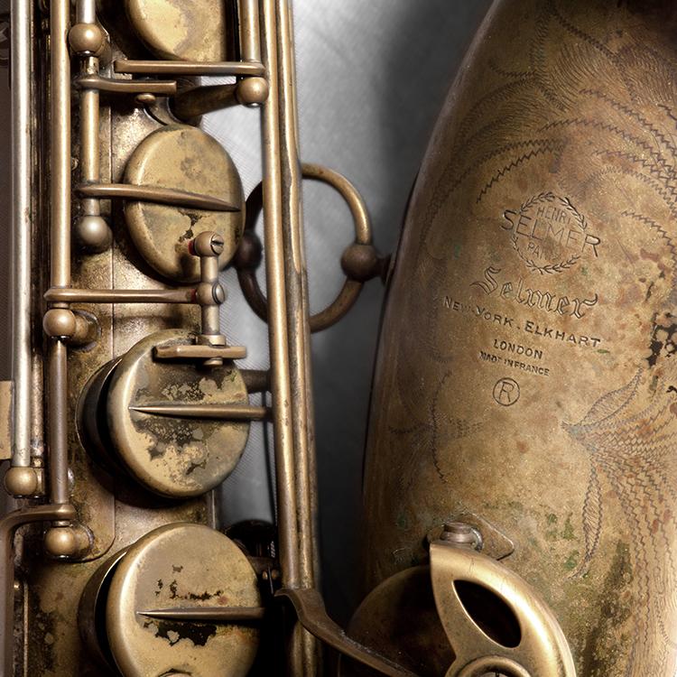 De Selmer Mark VI is nog altijd de eerste saxofoon van Yuri Honing. Hij heeft hem nooit vervangen.