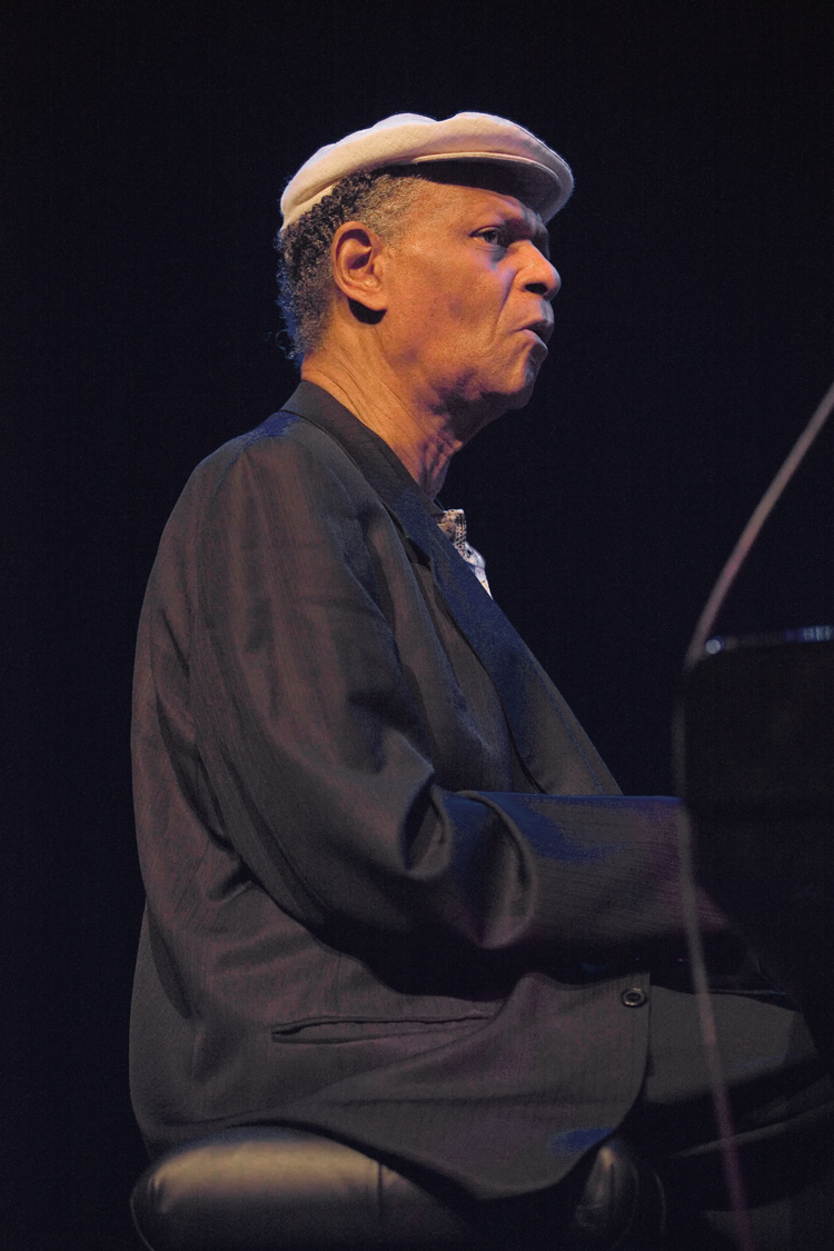 McCoy Tyner was ook gast tijdens North Sea Jazz 2010.
