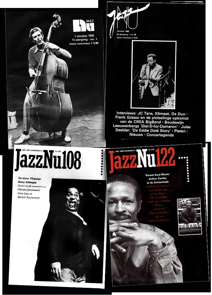 Jazznu-4-x-omslag Terugblikken bij het eerste lustrum van JazzNu