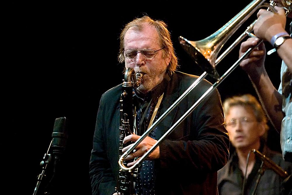 Willem Breuker op het North Sea Jazz Festival, Rotterdam 2008