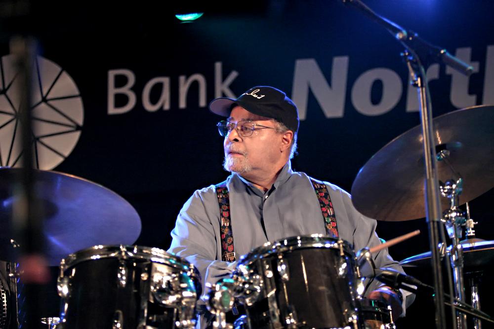 Jimmy Cobb op het North Sea Jazz Festival 2005.
