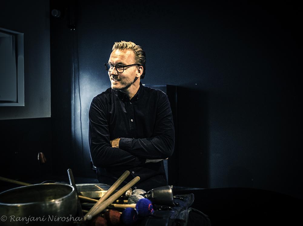 """Felix Schlarmann: """"Mijn vibrafoon beleeft nu een revival in mijn muzikale activiteiten, experimenten en opnames."""" Foto Ranjani Nirosha"""