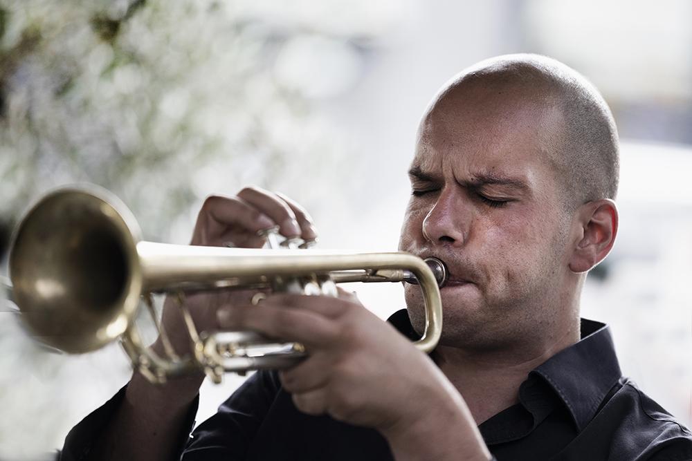 Carlo Nardozza, meester op de trompet en kung-fu.