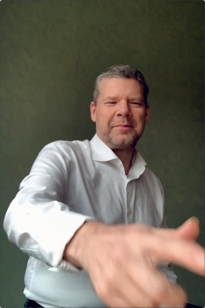 """Marco Kegel: """"Ik ben nu vooral bezig met inspelen om concerten goed te kunnen uitvoeren."""""""