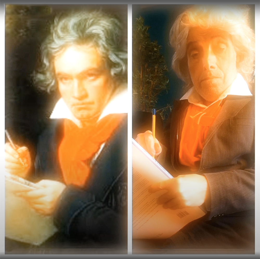 Ludwig van Beethoven en Jacq Palinckx.