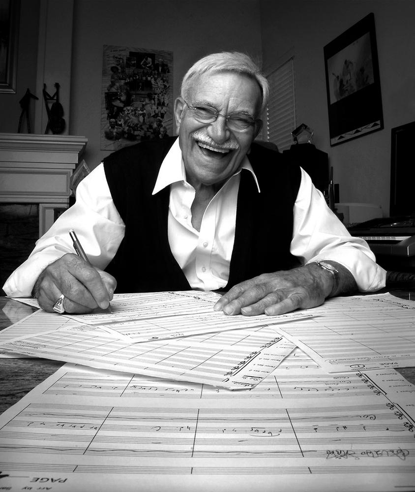 Sammy Nestico componeerde en arrangeerde ruim zeshonderd stukken. Fotograaf onbekend