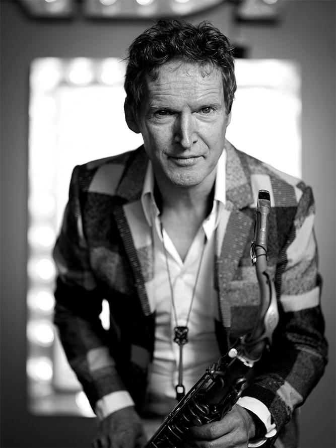Ad Colen is een landelijk bekende jazzmusicus, afkomstig uit Limburg. Foto Merlijn Doomernik
