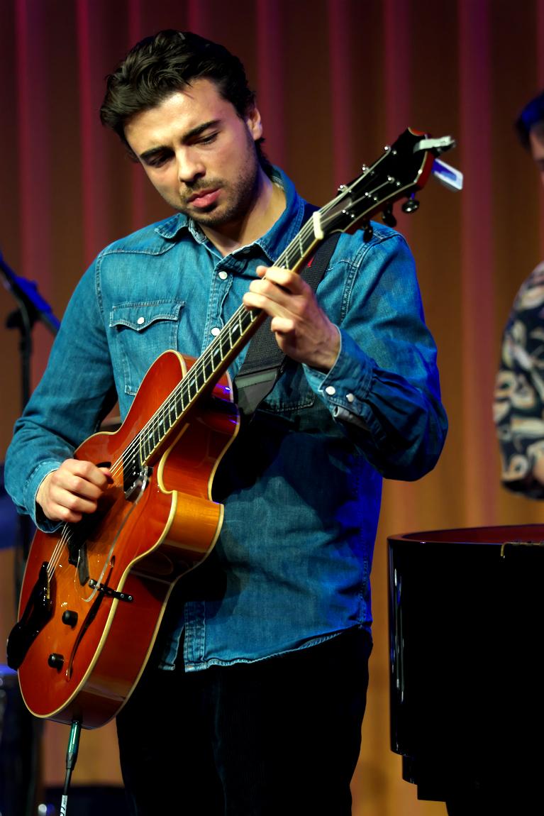 Davor Stehlik maakt deel uit van het Lucas Santana 5tet.