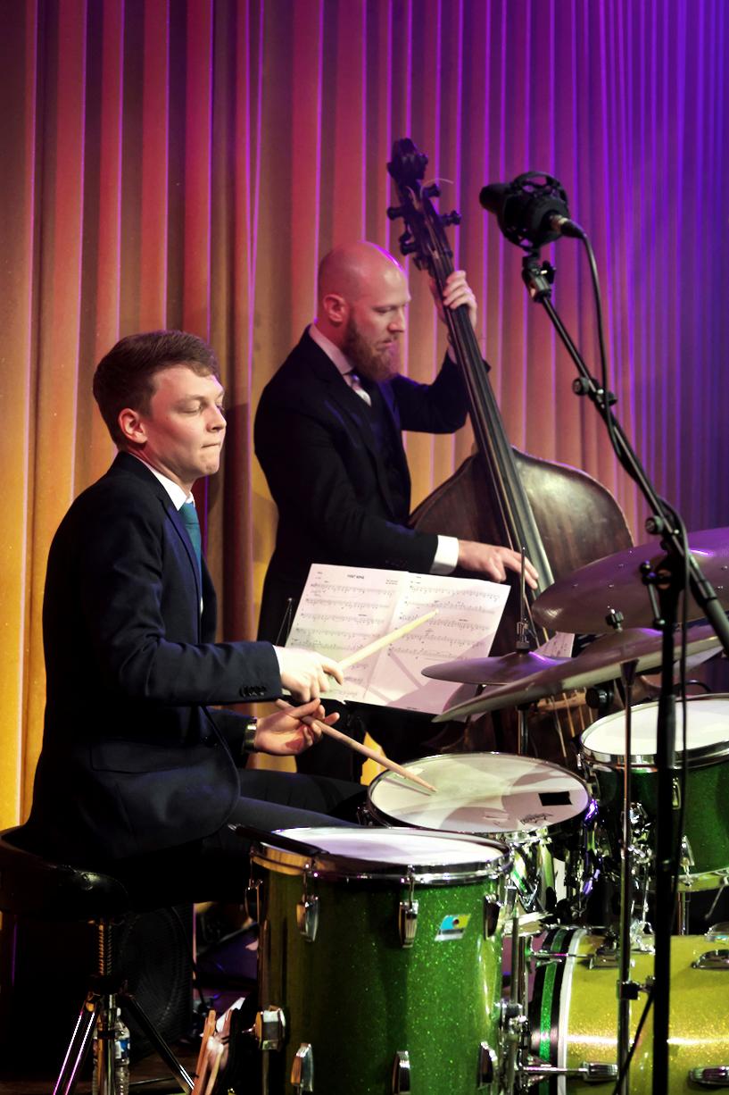 Tim Hennekes en Steve Zwanink maken deel uit van het Peter Beets Quartet.