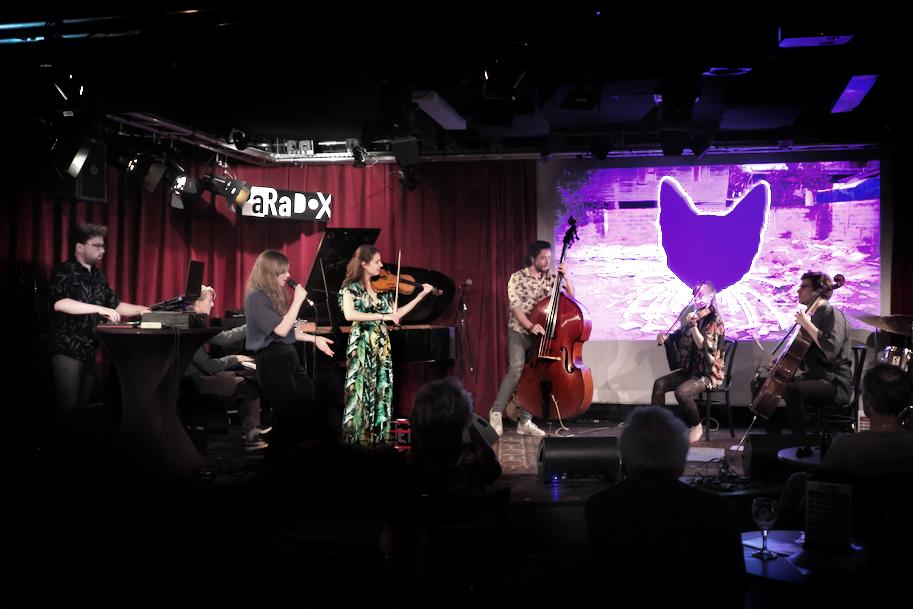 Het project 'Murakami' is opgebouwd met elementen uit de jazz, het klassieke strijkkwartet, jazz en poetry, spoken word en country&western.