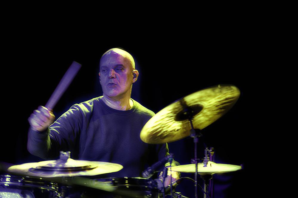 Stéphane Galland, drummer van The Gallands.